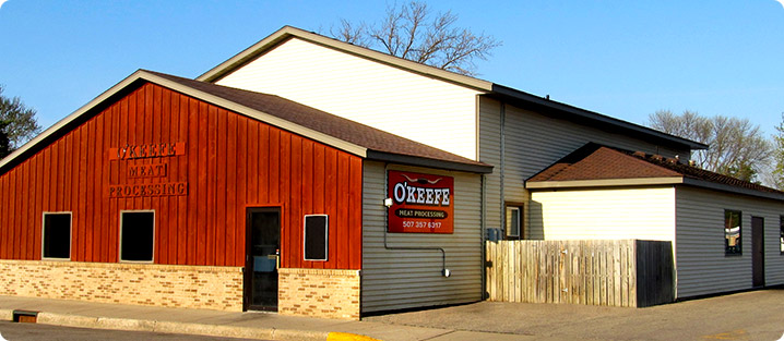 O'Keefe's Meat Market - Meat Locker & Processing Facility
